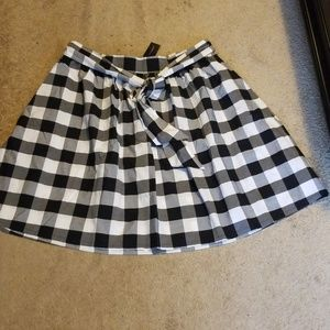 New Tie Waist Lane Bryant Skirt
